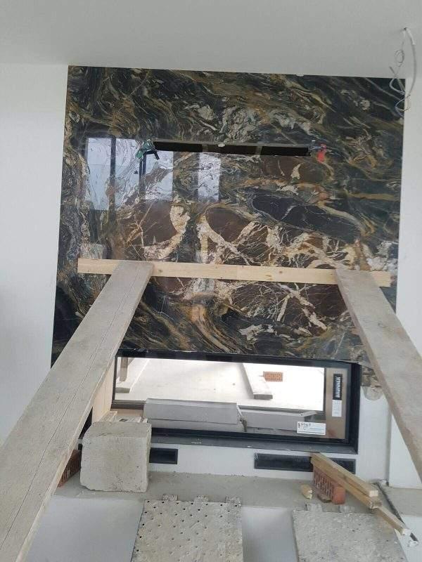 montaj lastre de marmura