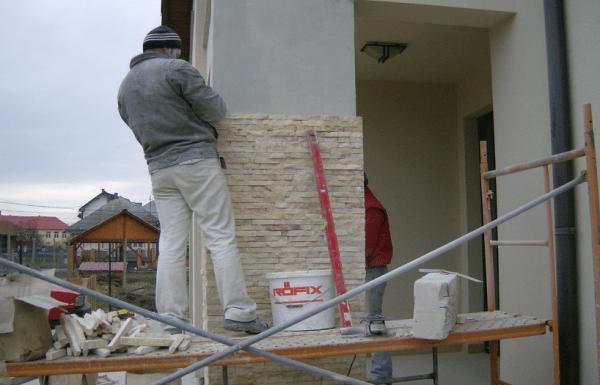 montaj piatra naturala Cluj