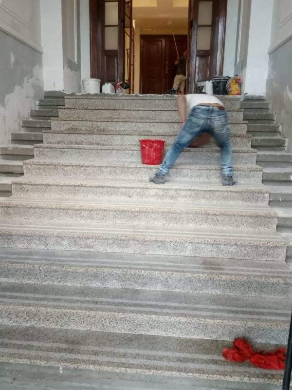 montaj trepte granit Cluj
